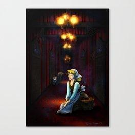 Lucifer's Hallway by Topher Adam 2017 Canvas Print