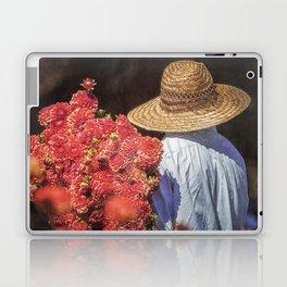Picking the Flowers Laptop & iPad Skin