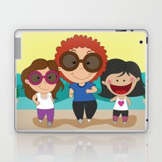 Walking with mom Laptop & iPad Skin