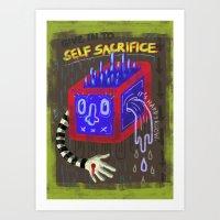 Self-Sacrifice Art Print