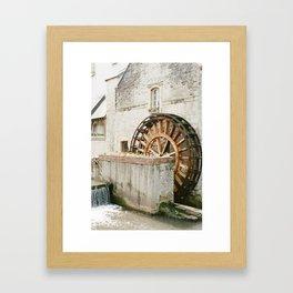 France on Film Framed Art Print