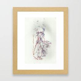 Cat Print 1 Framed Art Print