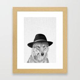 WOODY HUTSON Framed Art Print