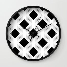 Retro-Delight - Diamond Division - White Wall Clock
