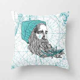 Ahoi Sailor Hauke Throw Pillow