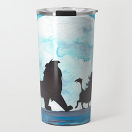 The Lion King Stencil Travel Mug