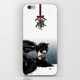 The Bat and the Cat iPhone Skin