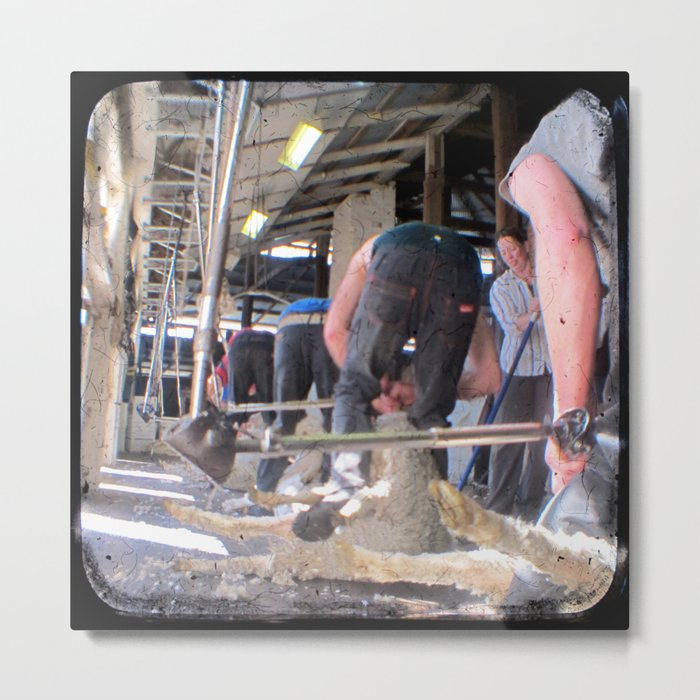 Heads Down, Bums Up - Through The Viewfinder (TTV) Metal Print