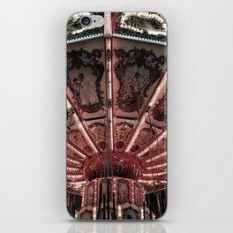 Carousel (Red) iPhone Skin
