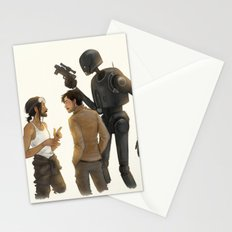 Bodhi, Cassian & K-2SO Stationery Cards
