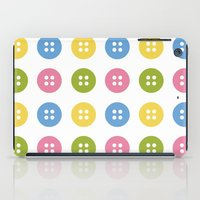 sewing iPad Cases featuring Sewing Button by Casa Inventada