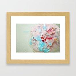 IN/ACQUA Framed Art Print