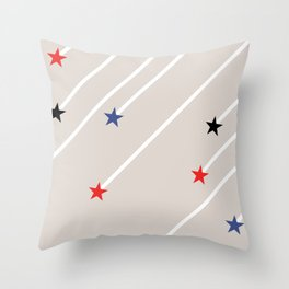 Shooting Stars Throw Pillow