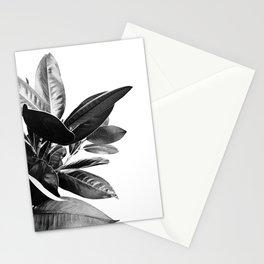Grandiflora II - bw Stationery Cards