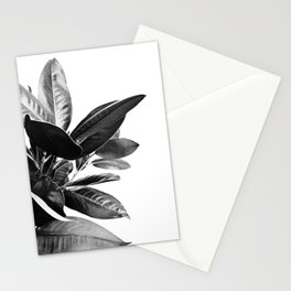Grandiflora II - bw Stationery Cards