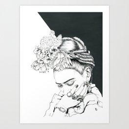 Frida I Kunstdrucke