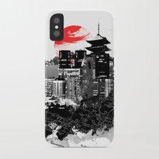 Abstract Tokyo-Shinjuku/Kyoto - Japan Slim Case iPhone X