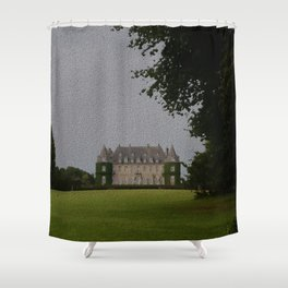 Belgian Chateau Shower Curtain