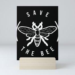 Gift for Beekeepers Beekeeper T-Shirt Save the Bee Mini Art Print