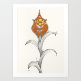 Goldenrod 3 Art Print
