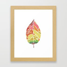 The New Leaf Framed Art Print