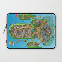 Home on a Tree Laptop Sleeve