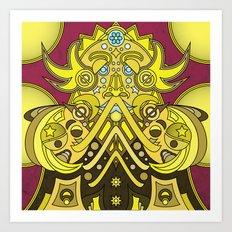 Mandala Man Art Print