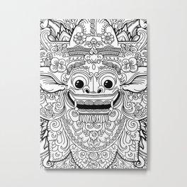 Barong / Balinese mask / Bali mask #3 Metal Print