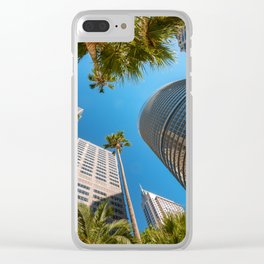 Look up in the City of Sydney Clear iPhone Case