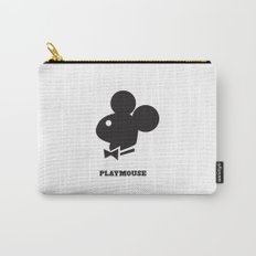 PlayMouse (Black) Carry-All Pouch