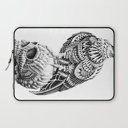 Red-Tail Skull Laptop Sleeve
