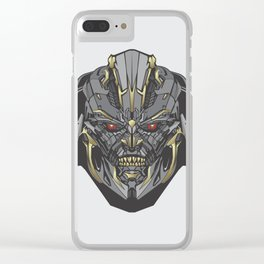 i'm megatron Clear iPhone Case