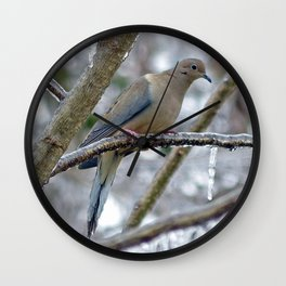 Mourning Dove Wall Clock