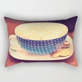 A Cup of Coffee Rectangular Pillow