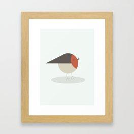 Little Robin Framed Art Print
