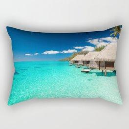 Nice Sea Bungalows Rectangular Pillow