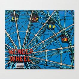 Wonder Wheel, Coney Island Canvas Print