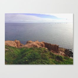 Cliffs And The Ocean / Australia Canvas Print