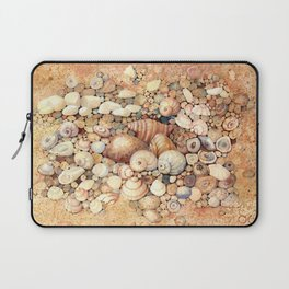 Shells on Sand Laptop Sleeve