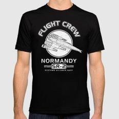 Normandy Flight Crew Mens Fitted Tee MEDIUM Black