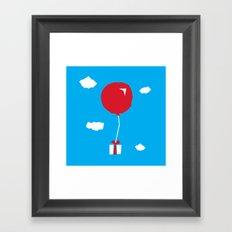 Animal Crossing The Gift Framed Art Print