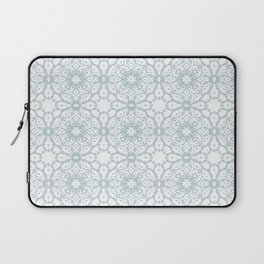 Shibori Starflower ice blue Laptop Sleeve