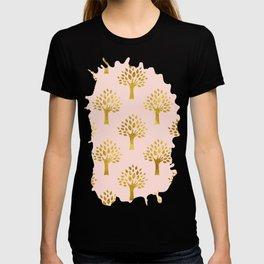 Pink Gold Foil 02 T-shirt