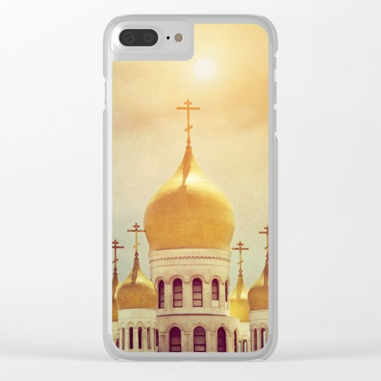 Russian Orthodox Church Clear iPhone Case