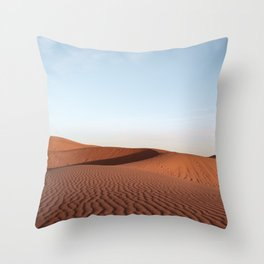Fine Desert Structures Photo | Sahara Desert Morocco Art Print | Landscape Nature Travel Photography Throw Pillow