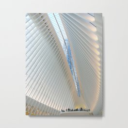 World Trade Center Transportation Hub Metal Print