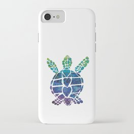 Turtle Island iPhone Case