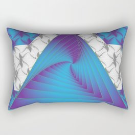 The Winding Stairs of Infinity Rectangular Pillow