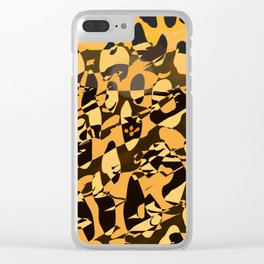 Wild Animal Print ABS Clear iPhone Case