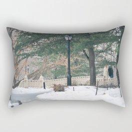 Old Couple Rectangular Pillow